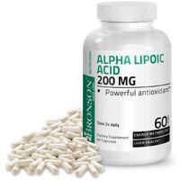 Bronson Alpha Lipoic Acid 200 mg, 60 Capsules