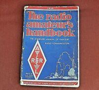 ARRL Radio Amateur's Handbook 16th Edition, 1939, Good Condition.