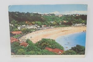 Jersey, St Brelades Bay Postcard Posted 1973 A105