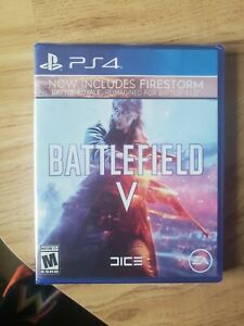Battlefield V - Sony PlayStation 4. BRAND NEW/SEALED. EA. Free Shipping.