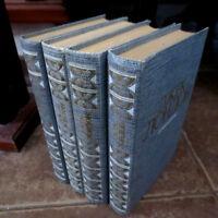 1984 Джек Лондон- Сочинения; JACK LONDON- Selected Works; 4 vol. set- RUSSIAN