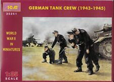 German Tank Crew 1943-1945 4 Figures Icm 35251 (Free shipping)