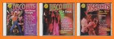 Disco Hits GET DOWN TONIGHT-LE FREAK-WE ARE FAMILY Chic Sister Sledge 70s 3 CD