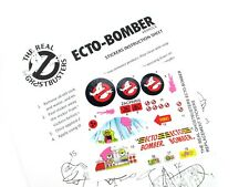 THE REAL GHOSTBUSTERS REPLACEMENT STICKERS for KENNER Ecto Bomber 'Pre-cut'