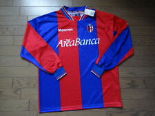 Bologna 100% Orignal Soccer Jersey Shirt M 2002/03 Still BNWT NEW LS Serie A