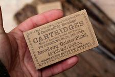 Civil war revolver cartridge box in .44+.36 caliber (1+1pc, double pack/small)