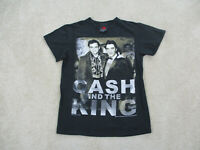 Johnny Cash Concert Shirt Adult Small Black Elvis Presley Rock Tour Band Mens