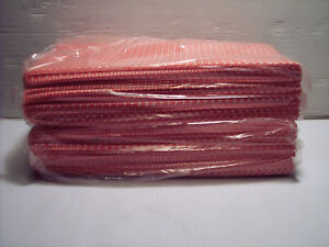 "72 REUSABLE WIPES CLEANING CLOTHS  XL PINK 23"" X 13""  FREE S/H"