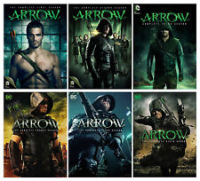 Arrow Complete Stephen Amell TV Series All Seasons 1-6 Bluray Set Collection Box