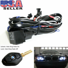 BMW Angel Eyes Halo Rings LED or CCFL Relay Harness w/ Fade-on Fade-off Features