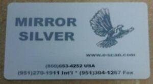 Zebra Silver Mirror Image Ribbon, 1000 prints - P330i - Made in USA