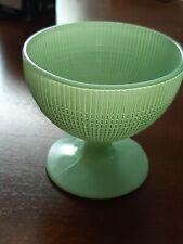 Jadeite Glass Dessert Cup