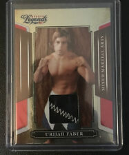 2008 Donruss Sports Legends Urijah Faber memorabilia #'d 004/450 2 cl