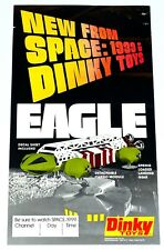 Dinky Toys Space 1999 Promotional Retailer Window Poster Unused Complete 1974