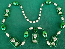 Nice High Quality String Of Y2K Year 2000 Mardi Gras Beads New Orleans LA