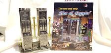 Las Vegas Slot Electric grinder Salt & Pepper Mill Shaker battery powered - Rare