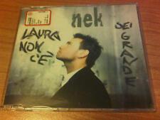 CDs NEK LAURA NON C'E' / SEI GRANDE WEA 0630 17989 2 ITALY PS 1997 DUE TRACCE