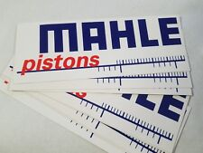 (2) MAHLE PISTONS decals stickers LS3 CHEVY FORD CHRYSLER HOT ROD