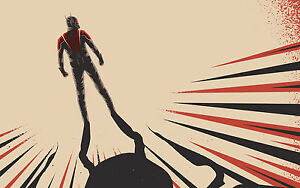 Painting PRINT ant man film  Modern Abstract Art Wall Deco Poster