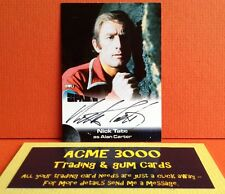 Anderson Space 1999 Unstoppable Nick Tate Autograph Card NT1 Case Topper