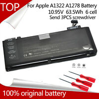 "Genuine OEM A1322 Battery For Macbook Pro 13"" A1278 Mid 2009/2010/2011/2012 NEW"