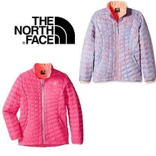 Authentic NEW The North Face Girls Kids Thermoball Full Zip Lightweight Jacket