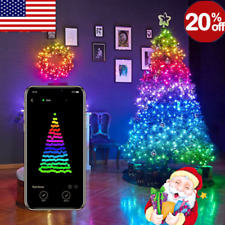 Christmas Tree Decoration Light Custom LED String Lights App Remote Control Xmas