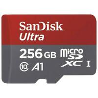 SANDISK ULTRA 256GB MICROSD MEMORY CARD MICRO-SDXC HIGH Q5V for PHONE / TABLETS
