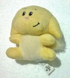 Neopets Kacheek Plush Yellow McDonald's 2005 Premium Promo Soft Stuffed Toy