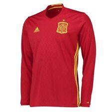 Camisetas de fútbol de clubes españoles para hombres rojo