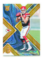 PATRICK MAHOMES II 2017 Panini Donruss Elite Orange Holo Foil Rookie RC SP 24/25