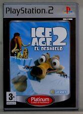 ICE AGE 2 EL DESHIELO - PLAYSTATION 2 - ESPAÑA - COMPLETO