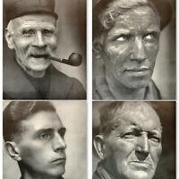Flanders Book 1940s w/70 photos Faces German Folk by Erna Lendvai Dircksen