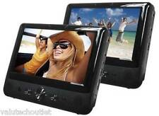 "Bush DVD9791 9"" Dual 2 Screen Car DVD USB Player Car Headrest Multi-Region B75"
