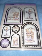 HUNKYDORY ADORABLE SCORABLE A JOYOUS DAY TOPPER-CARDS-INSERTS-ENVELOPES