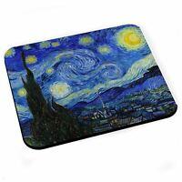 Tapis de Souris Vincent van Gogh Nuit Etoilée Peinture Art