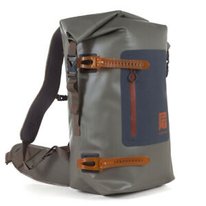 Fishpond Wind River Roll-Top Backpack - Shale - Free Fast Shipping