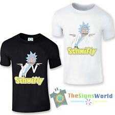 Rick and Morty T-Shirt, Get Schwifty T-Shirt, Inspired Top (RMGSF)