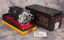 KODAK K100 Turret Cine-Kodak 16mm Movie Camera - w/ Cine-Ektar II 25mm + box
