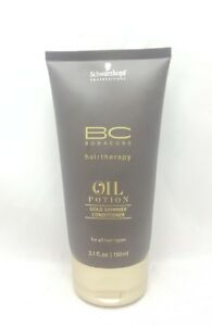 BONACURE Hairtherapy Oil Potion Gold Shimmer Conditioner 5.1fl oz/150ml