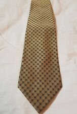 BROOKS BROTHERS MAKERS SILK NECK TIE YELLOW TINY SQUARES FOULARD