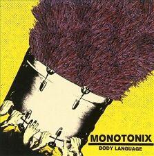 MONOTONIX - Body Language EP CD ( 2008, 6 songs )