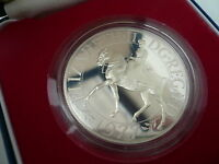 1977 Sterling Silver Proof Commemorative Jubilee Crown Cased & Encapsulated