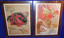 Set of 2 Collectible I Love You & Friendship Wooden Plaques