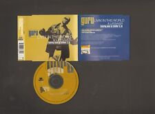 GURU 4 track CD SINGLE Livin' in this World Lifesaver DJ PREMIER CUTFATHER & JO
