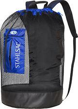 Stahlsac Bonaire Scuba Diving Travel Mesh Backpack Gear Bag Blue NEW