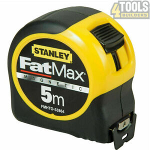 Stanley FMHT0-33864 FatMax Magnetic Tip Tape 5m Metric only STA033864 0-33-864