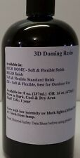 UV Curing 3D Doming epoxy resin, 1 component, Soft finish