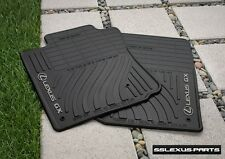 Lexus GX460 (2010-2013) OEM Genuine 4pc ALL WEATHER FLOOR MATS (Black)