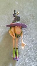 "Dept. 56 ""KRINKLES"" Gourd Witch Patience Brewster Halloween  - 2003"